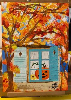 """One - Eyed Pumpkin"""