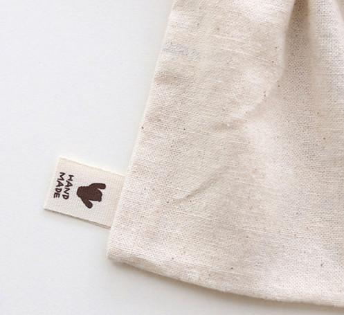 12 x Cactus plant Fabric Labels HAND MADE Label / Sew on craft handmade  JLa54:
