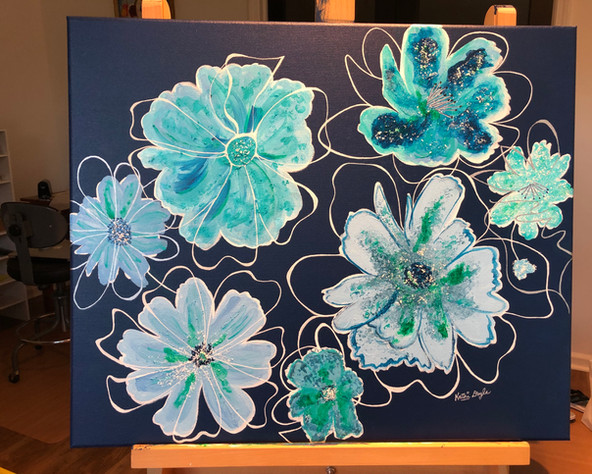 """Wild Blue Flowers"""