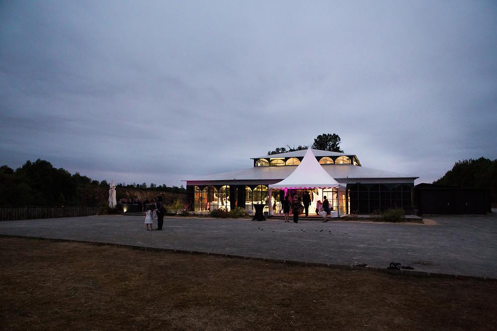 l'Orangerie de Echologia Louverné en Mayenne