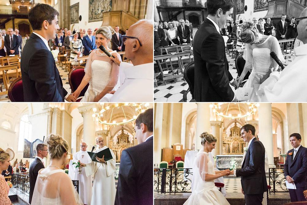 Mariage à la Cathédrale de laval en Mayenne
