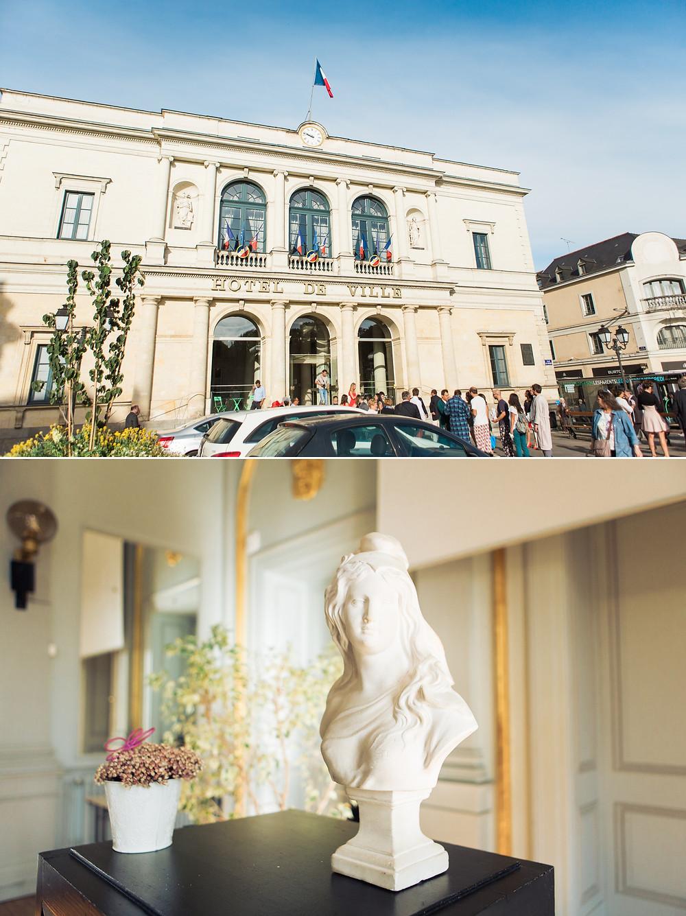 Mariage à la mairie de Laval