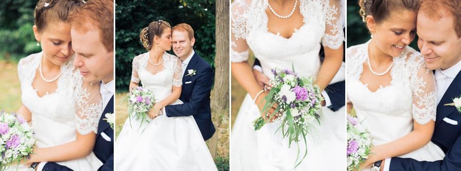 Mariage Franco-Américain à La Brochellerie
