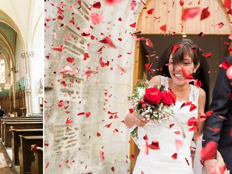 Mariage romantique à Saint-Cyr-en-Pail, {Aurélie & Nicolas}