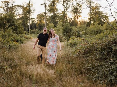 Séance Grossesse en forêt - {Annabelle & Thierry}