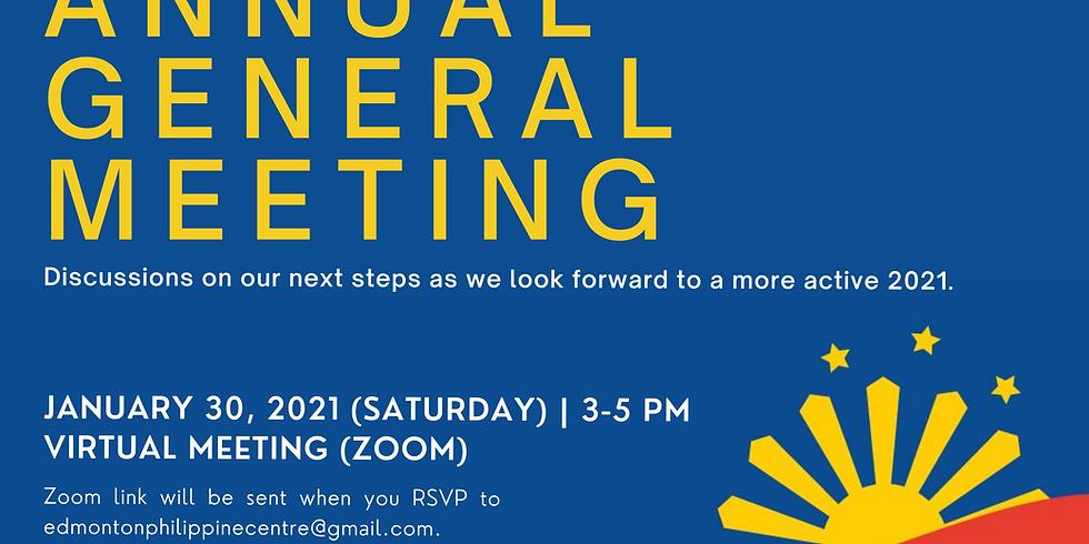 Annual General Meeting, January 30, 2021