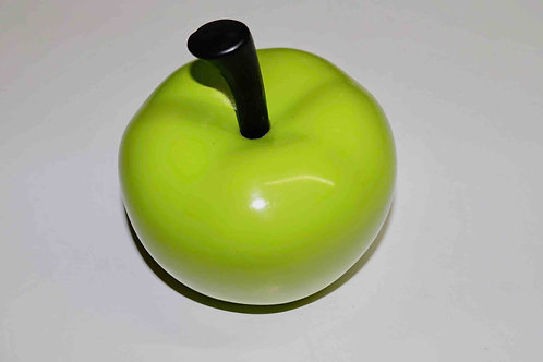 Pomme décorative en céramique verte de marque Peri