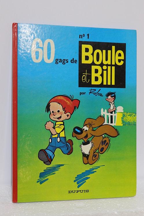 6 albums de Boule et Bill