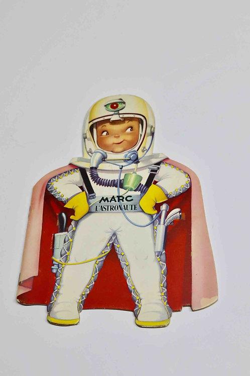 Livre de contes pour enfants de Juan Ferrandiz Marc l'astronaute