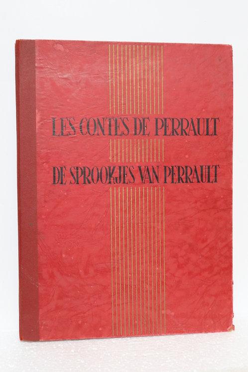 Livre chromos points Tintin Les Contes de Perrault complet