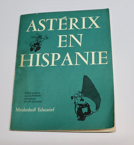 Album broché Astérix en Hispanie 1973 Meulenhoff