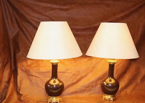 Paires de lampes de salon dans le goût de la maison Bagues