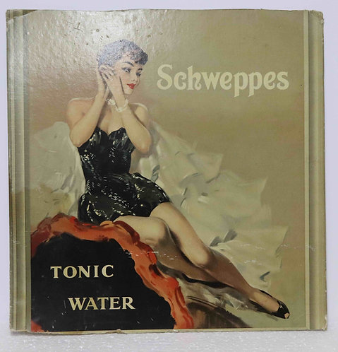 Carton original publicitaire Schweppes