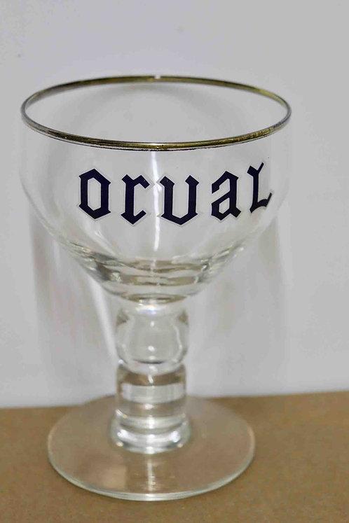 Verre Orval pied boule