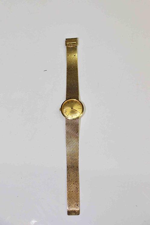Montre plaqué or Juvenia Swiss Made pour enfant, ou pour dame