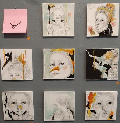 10/10 cm Galerie W. Montaudié