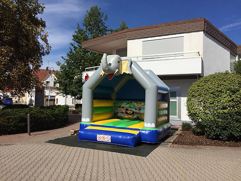 Hüpfburg Elefant 4x4m