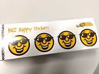 BUZ Happy Face stickers (BS4)