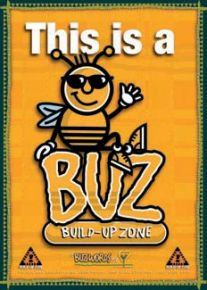 This is a Build Up Zone Big BUZ Poster (BPL1)