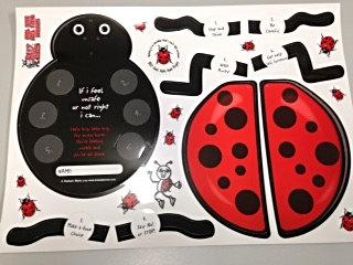 BUZ Ladybug Craft Sheets (YLBCS)