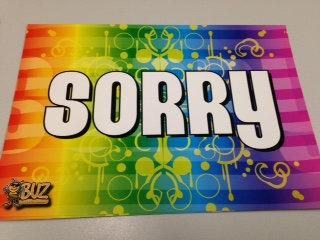 Sorry Mini Poster (YSOR)