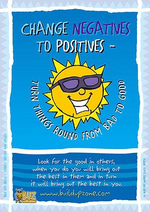 Change Negatives to Positives ... (BMPL11)