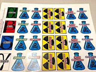 BUZ Power Save the World Stickers (YPSW)