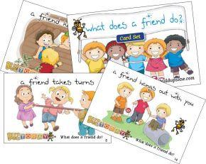 What Does A Friend Do Card Set (YWDFD)