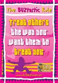 The BUZtastic Rule BIG BUZ Poster (BPL4)