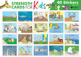 Strength Cards For Kids Stickers (IN0520)
