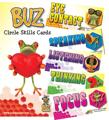 BUZ Circle Skills Card Set (YCIR)