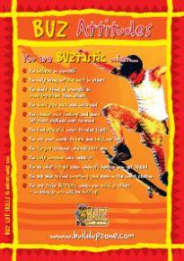 The BUZ Attitudes Big BUZ Poster (BPL5)