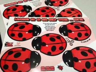 Ladybug Okay to get Help Cards (YLBOK)
