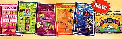 BIG BUZ Posters Full Set of 11 (BPLS)