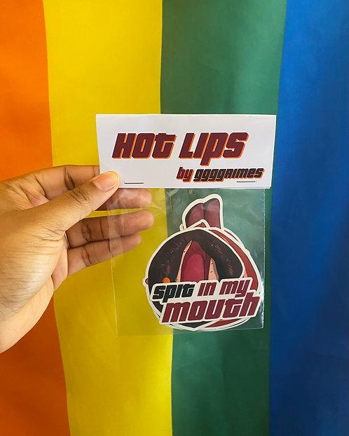 Hot Lips Sticker Pack