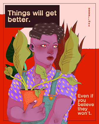 Things will get better Print