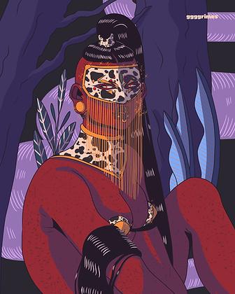 Masked Print