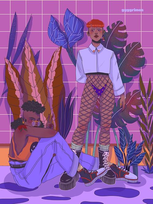 Plant Gays Print