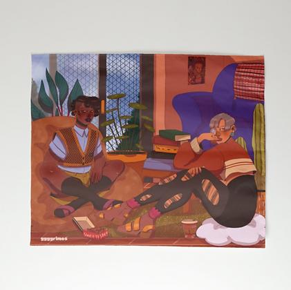 Friendship II Tapestry