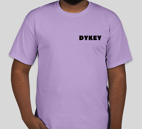 Dykey t-shirt Purple