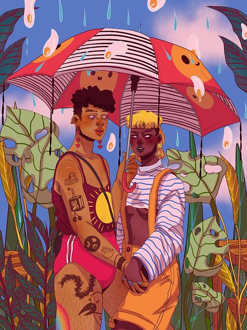 Summer Rain Print