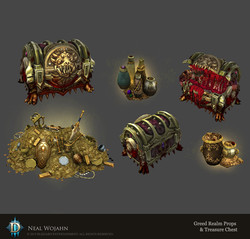 Greed Realm Props