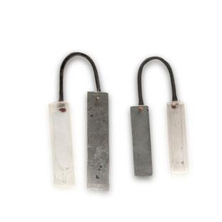 Perspex,  aluminium and brass