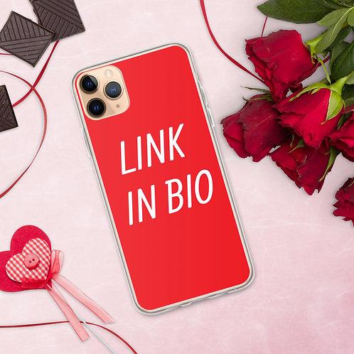 LINK IN BIO iPhone Case