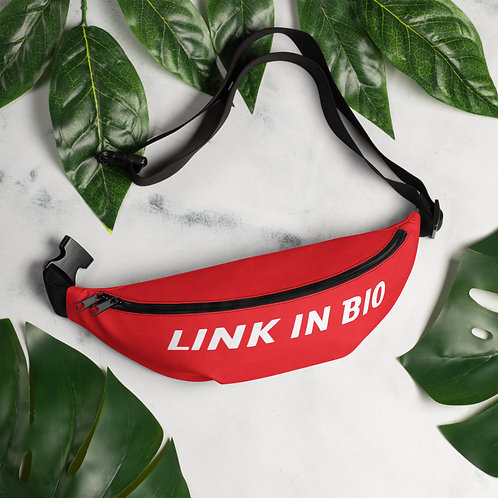LINK IN BIO Fanny Pack
