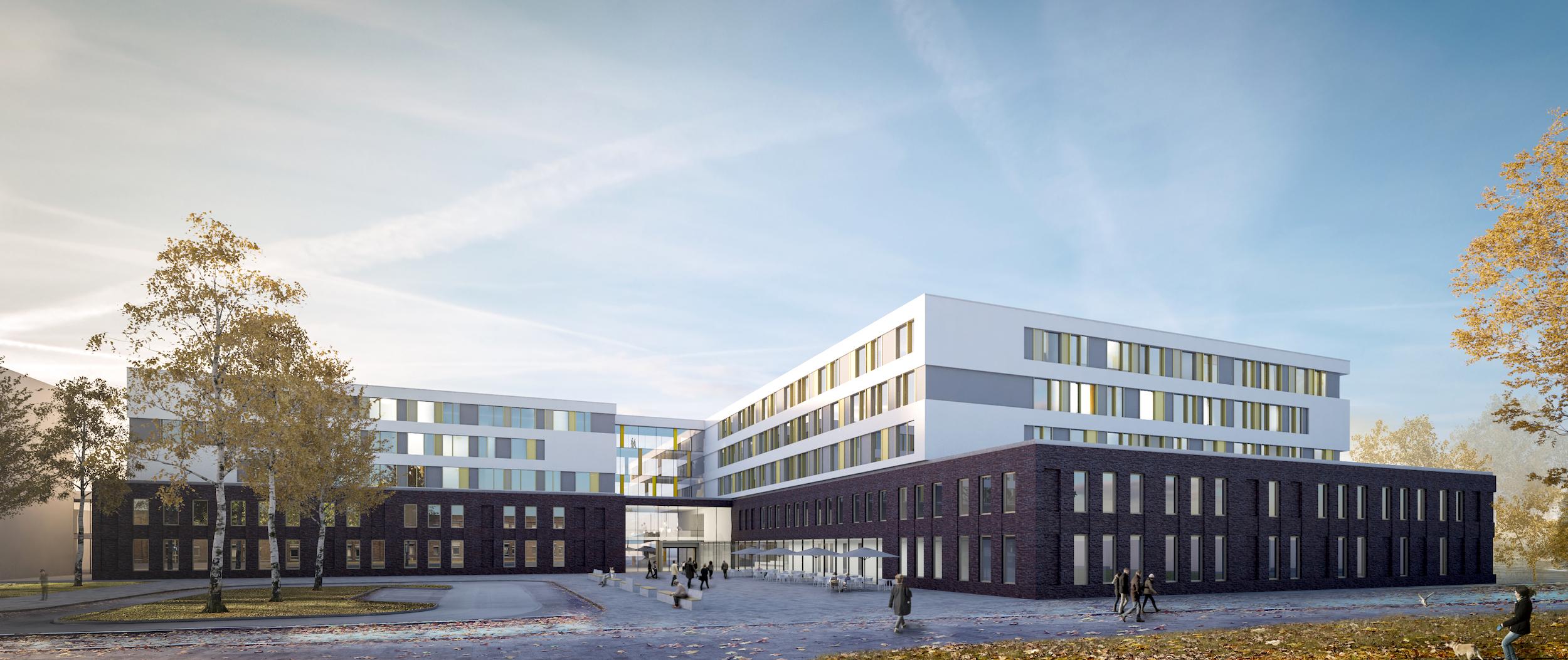 sander.hofrichter architekten I Klinikum Wilhelmshaven