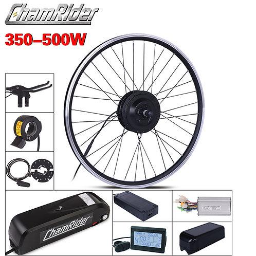 MXUS Ebike Kit Electric Bike Conversion Kit Hailong Battery 350W 500W 36V 20.4AH