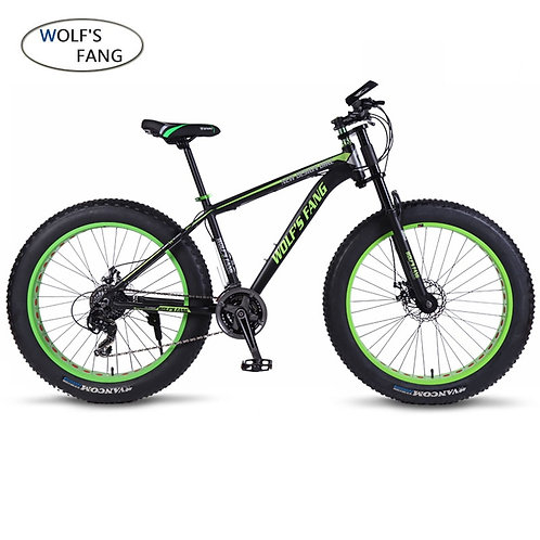 Wolf's Fang Mountain Bike Bicycle Aluminum Frame 7/21/24 Speed Mechanical Brakes