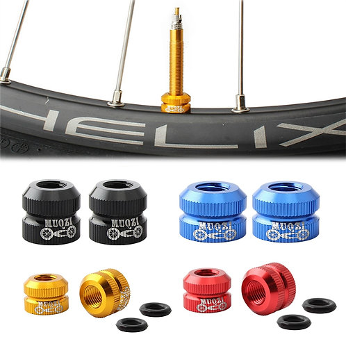 Bike Vacuum Tire Law Mouth Nut Bicycle Tire Inner Tube Valve Caps Valve Inner No