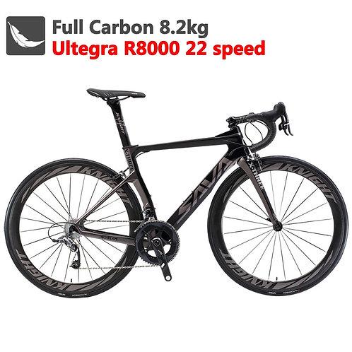 SAVA Carbon Road Bike 700C Carbon Bike Racing Road Bike Carbon Bicycle With SHIM